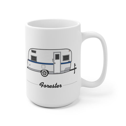 Terry Hoover Custom Forester (1967), Ceramic Mug - Vintage Trailer Field Guide