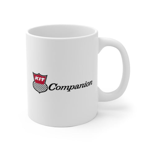 Kit Companion Logo, Ceramic Mug - Vintage Trailer Field Guide