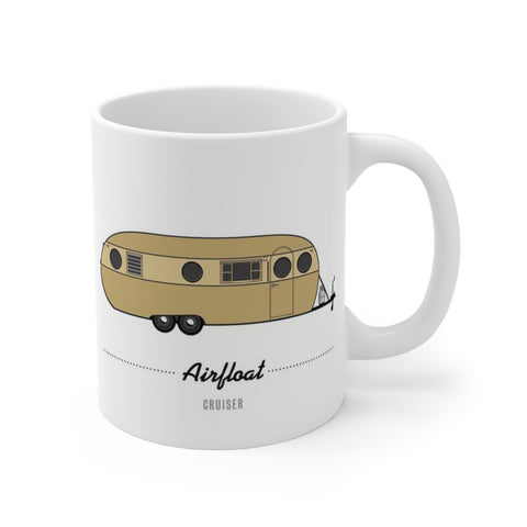 Airfloat Cruiser (1957), Ceramic Mug - Vintage Trailer Field Guide
