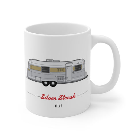 Silver Streak Atlas (1967), Ceramic Mug - Vintage Trailer Field Guide