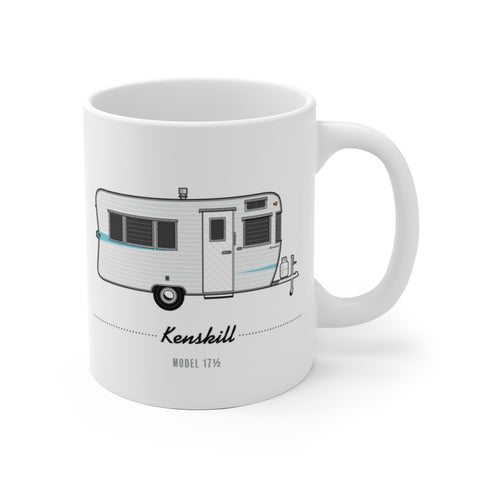 Kenskill Model 17.5 (1961), Ceramic Mug - Vintage Trailer Field Guide
