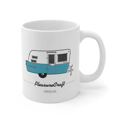 PleasureCraft (1958), Ceramic Mug - Vintage Trailer Field Guide