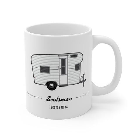 Scotsman 14 (1966), Ceramic Mug - Vintage Trailer Field Guide