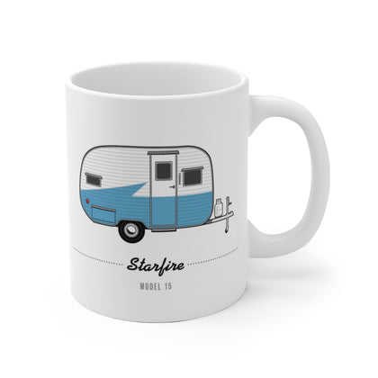 Starfire 15 (1955), Ceramic Mug - Vintage Trailer Field Guide