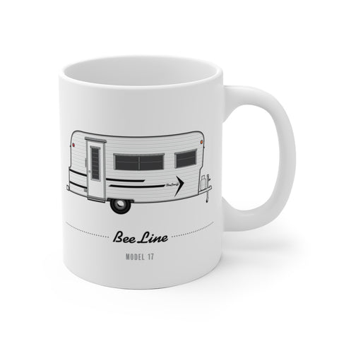 Bee Line Model 17 (1967), Ceramic Mug - Vintage Trailer Field Guide