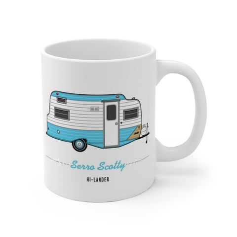 Serro Scotty Hi-Lander (1976), Ceramic Mug - Vintage Trailer Field Guide