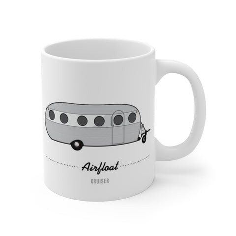 Airfloat Cruiser (1955), Ceramic Mug - Vintage Trailer Field Guide