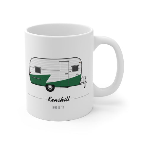 Kenskill Model 17 (1955), Ceramic Mug - Vintage Trailer Field Guide