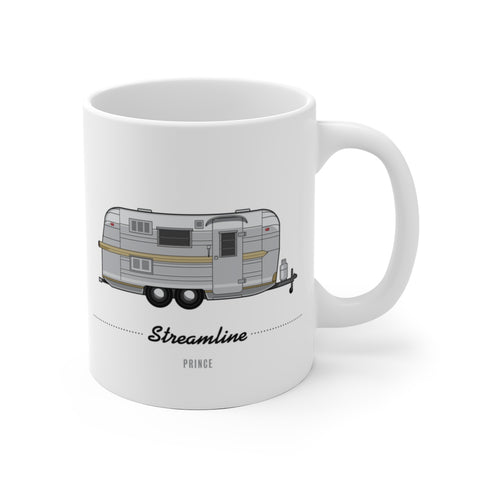 Streamline Prince (1966), Ceramic Mug - Vintage Trailer Field Guide