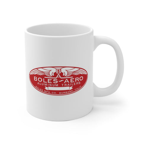 Boles Aero Badge, Ceramic Mug