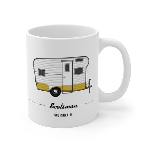Scotsman 14 (1957), Ceramic Mug - Vintage Trailer Field Guide