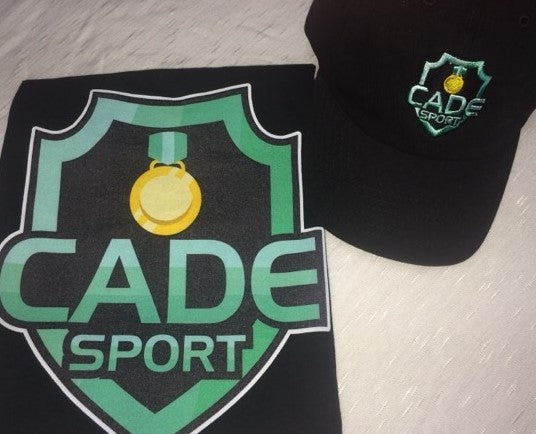CADEsport Tshirt and Baseball cap