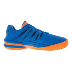 K-Swiss Men's Ultrashot 2 Brilliant Blue/Neon Orange
