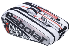 Babolat Pure Strike Racquet Bag 12pk White and Red
