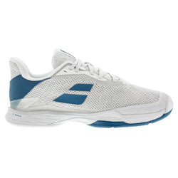 Babolat Men's Jet Tere Tennis Shoes White and Blue