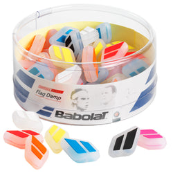 Babolat Flag Tennis Dampener Jar 50 Pack