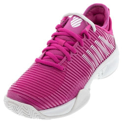 K-Swiss Women's Hypercourt Supreme Tennis Shoes Cactus Flower and Nimbus Cloud