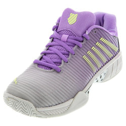 K-Swiss Women's Hypercourt Express 2 Tennis Shoes Vapor Blue and Fairy