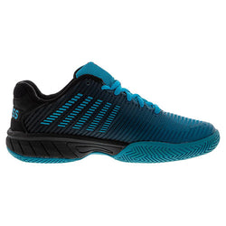 K-Swiss Men's Hypercourt Express 2 Algiers Blue and Black Tennis Shoes