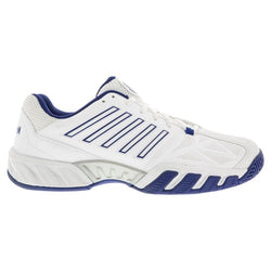 K-Swiss Men's Bigshot Light 3 Tennis Shoes White and Limoges