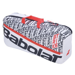 Babolat Pure Strike Racquet Duffle Bag White and Red