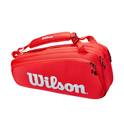 Wilson Super Tour 6 Pack Red