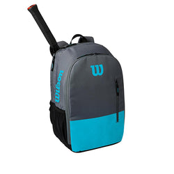 Wilson Team Backpack Tennis Bag Blue and Grey