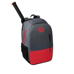 Wilson Team Backpack Tennis Bag Red and Grey