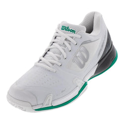 Wilson Men's 2019 Rush Pro 2.5 Tennis Shoes White/Ebony/Deep Green