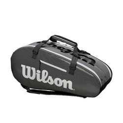 Wilson Super Tour 2 Compartment Large  Black/White Tennis Bag