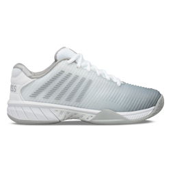 K-Swiss Women's Hypercourt Express 2 Tennis Shoes White Highrise and Silver
