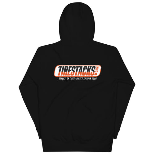 TireStacks.com Premium Unisex Hoodie - Black