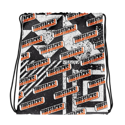 TireStacks.com Event Day Drawstring bag