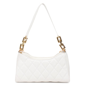 Retro baguette bag (white)