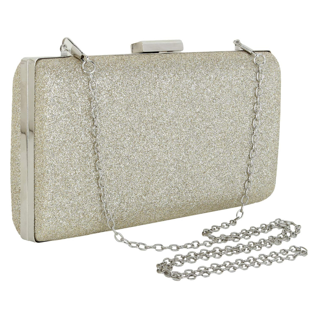 Shimmer clutch (Golden)