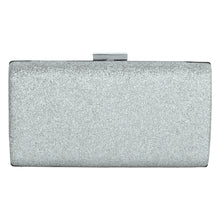 Load image into Gallery viewer, Shimmer clutch (Silver)