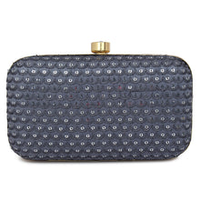 Load image into Gallery viewer, Indiana Clutch in Grey.