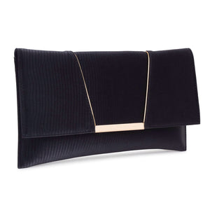 Savoy Envelope Clutch in Black