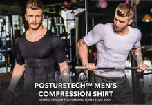 Load image into Gallery viewer, PostureTech™ Men's Compression Shirt
