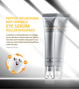 Peptide Nourishing Anti-Wrinkle Eye Serum Roller Massager