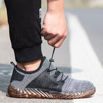 2019 Summer Breathable Anti-Smashing Stab-Resistant Safety Shoes