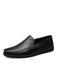 Breathable Leather Soft Sole Casual Shoes