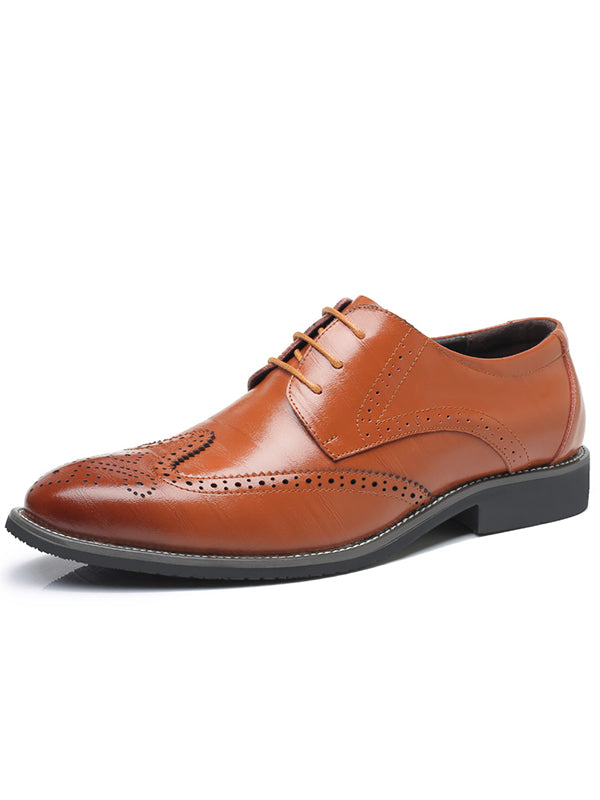 Fashion Brock Business Dress Shoes