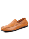 Breathable Leather Casual Loafers