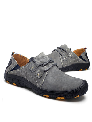 2019 New Outdoor Leather Non-Slip Wear-Resistant Casual Shoes