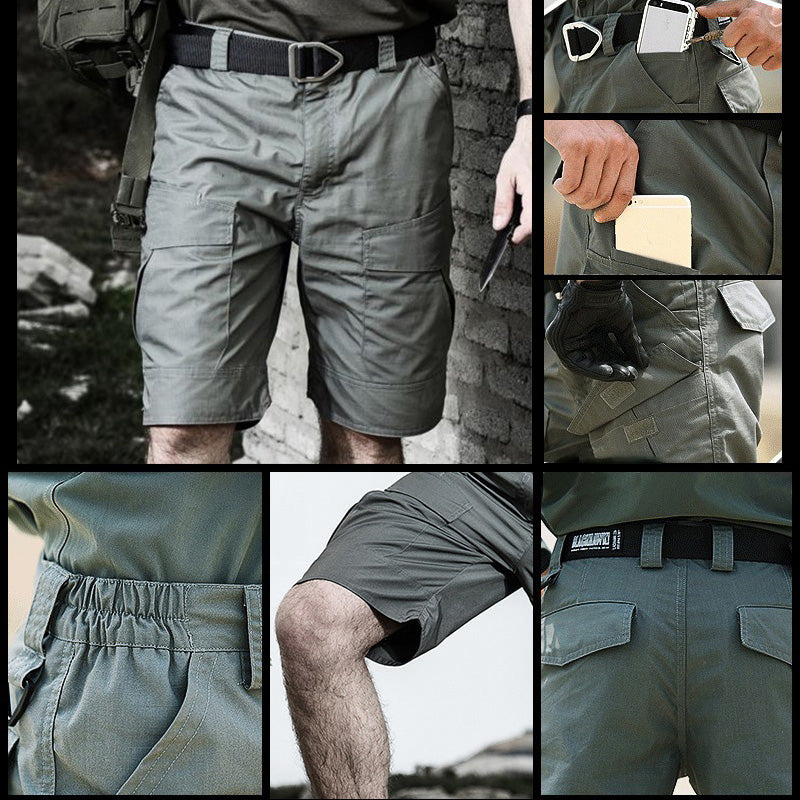 2019 Daily Tactical Military Multi Pocket Men's Shorts