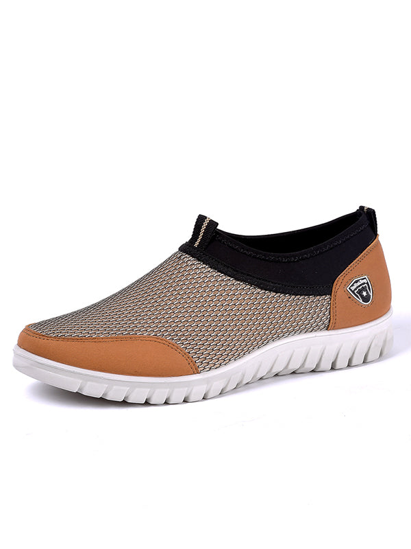 Breathable Lightweight Soft Sole Non-Slip Mesh Shoes