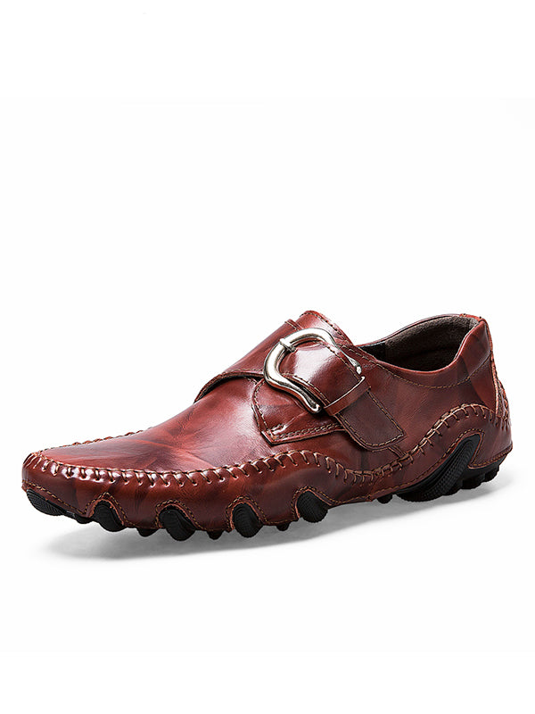 Fashion Leather Casual Loafers