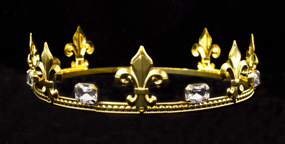 Prince Round Crown Gold 2