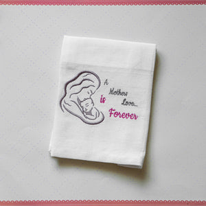 Mothers Love 4x4 and 4x6 art - ITH Digital Embroidery Design
